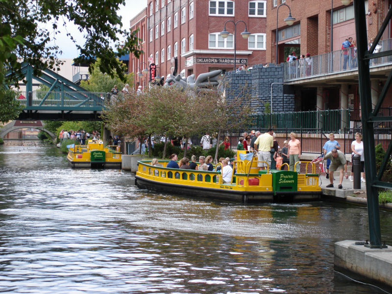 Bricktown_Canal_Water_Taxis_in_Oklahoma_City
